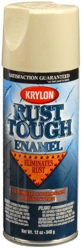 Krylon RTA9207 'Rust Tough' Almond Rust Preventive Enamel - 12 oz. Aerosol