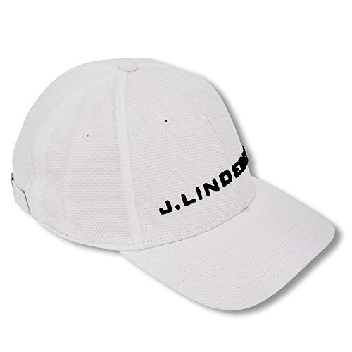 J.Lindeberg Aiden Pro Poly 86MG Golf Cap 2018 White One Size Fits All