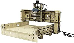 """BobsCNC Evolution 3 CNC Router Kit with the Router Included (16"""" x 18"""" cutting area and 3.3"""" Z travel)"""