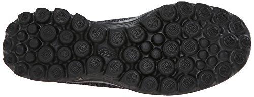 Skechers rendimiento GB, escalón 2 Bind-Slip de encendido on calzado Negro