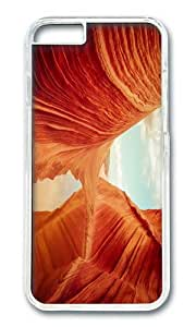 USA Arizona Coyote Butts National Park Vermilion Cliffs rocks water PC Transparent Hard Case for Apple iPhone 6(4.7 inch)
