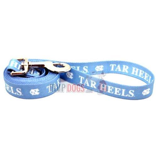 """North Carolina Tar Heels NCAA Dog Leash M: 6 foot, 3/4"""" wide"""