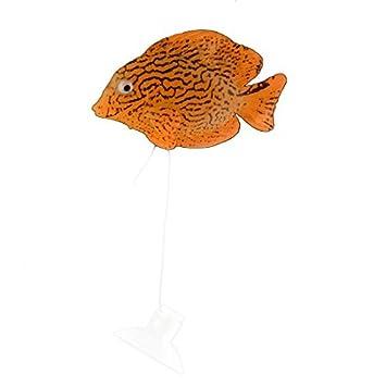 DealMux silicona pecera Goldfish tanque flotante simulación realista de pescado decoración del ornamento: Amazon.es: Productos para mascotas