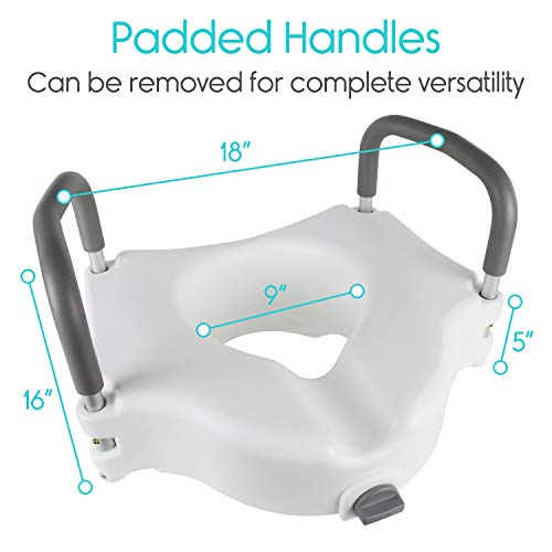 Remarkable Vive Raised Toilet Seat 5 Portable Elevated Riser With Pdpeps Interior Chair Design Pdpepsorg