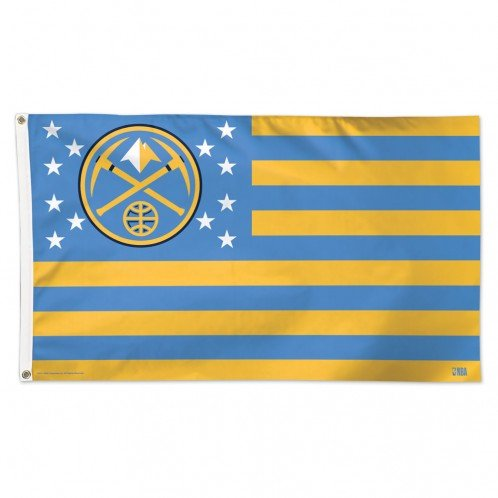 Denver Nuggets NBA American Flag 3 x 5 Foot by WinCraft