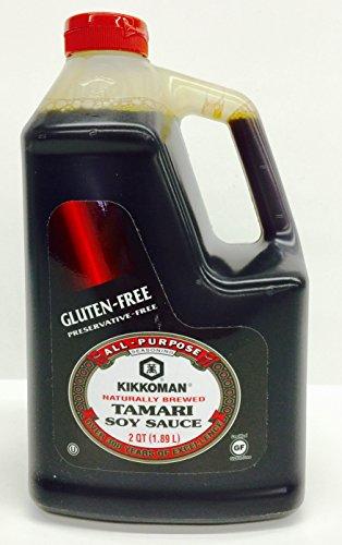 Kikkoman Tamari Soy Sauce Gluten-Free, 64 Ounce (0.5 Gallon)