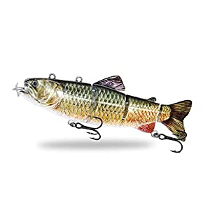 ods lure Electric Swimbait Fishing Lure Robotic Fish