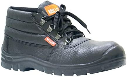 9f487828f23 Miller Leather Safety Shoes (Mil-SMA): Amazon.com