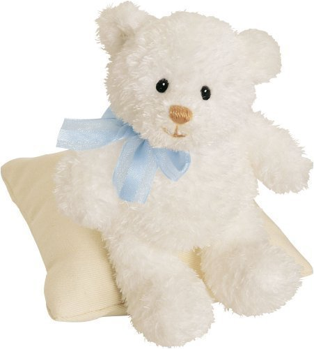 Gund Baby Sweetness Baby Rattle Bear - March of Dimes - ()