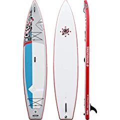 Shabo Raven was designed as the ultimate cruising and touring inflatable, for longer distance paddling in all conditions. The inflatable board is well designed for holding gear with multiple secure points.