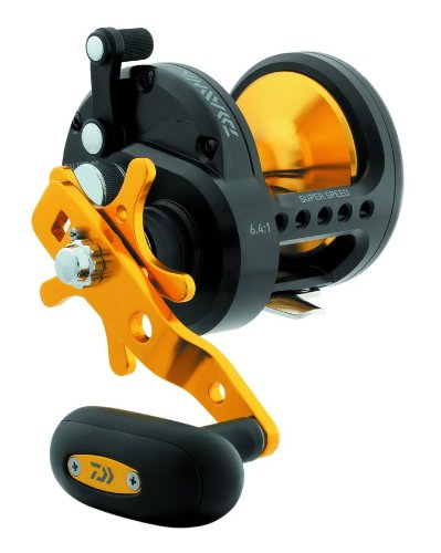 st 40 HighSpeed Black Gold Conventional Saltwater Reel (Daiwa Saltist Saltwater Conventional Reels)