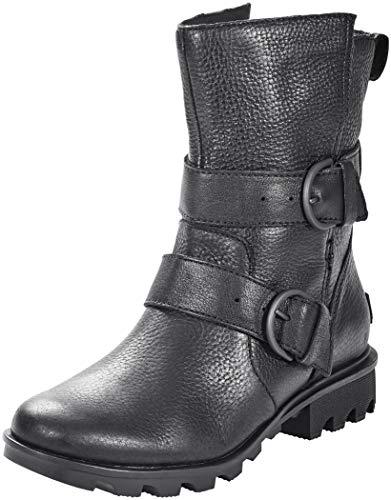 Sorel Womens Phoenix Moto Black Boot - 8