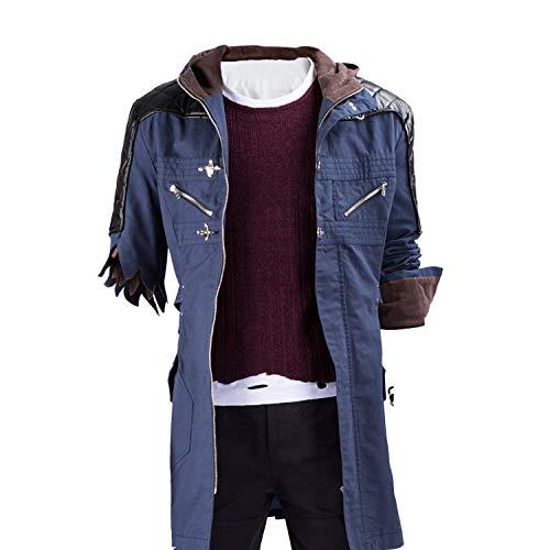 Nero Coat Casual Jacket Coat Halloween Cosplay Costume]()