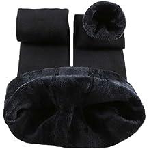 Romastory Winter Warm Women Velvet Elastic Leggings Pants Fleece Lined Thick Tights