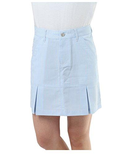オプスト ゴルフウェア スカート シアサッカースカート OP220308H02 SAX L