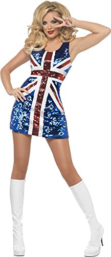 Fever Women's All That Glitters Rule Britannia, Multi, Large