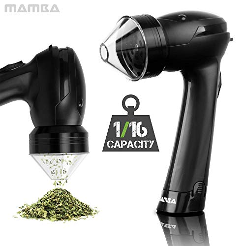 Mamba 420 Battery Aluminum Herb Grinder. Forward-Reverse Grinding (2-Inch / 1 Gram Capacity) (Best Rated Weed Strains)