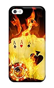 Charejen Iphone 5/5s Well-designed Hard Case Cover Poker Protector