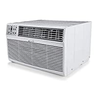 MIDEA MAT10R1ZWT Air Conditioner 3-in-1 Cooling and 3 Fan Speeds,Sleep Mode, LCD Remote Control, Through The Wall AC, 115V, 10000 BTU, White