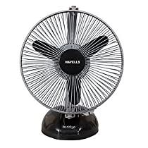 Havells Birdie 230mm Personal Fan Black and Grey