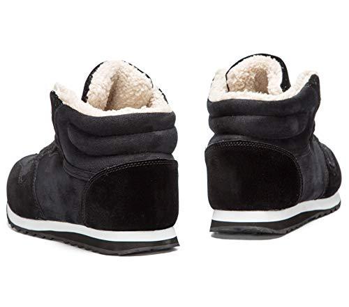 36 Blu Booties Antiscivolo Invernali Stivaletti Sportive Stivali donna Da Caviglia Neve Unisex Nero Uomo 48 Scarpe Boots 6C7wZqRw1
