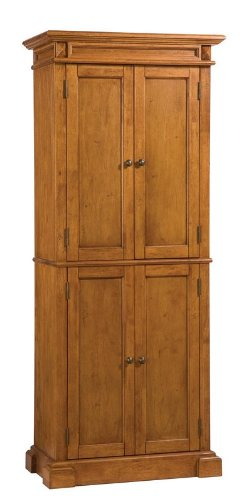 Pantry with Cottage Oak Finish