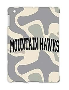Mountain Hawks Block Jersey Sports Uniform Team Mountain Baseball Hawks Miscellaneous Softball TPU For Ipad 2 Black Shock-absorbent Case