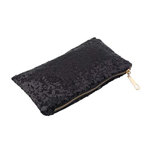 Hexingshan and Handbag Special Black Elegant Modern Small Sequin Bag rPwq16r