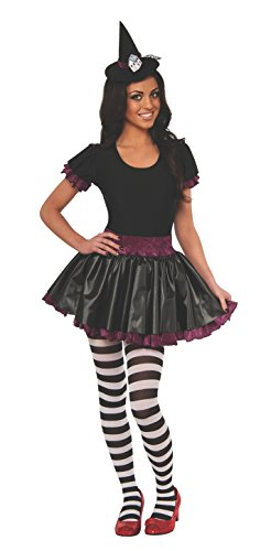 Wizard Of Oz Wicked Witch Of The East Teen Costume, Black/Red/White, (Wicked Witch Of The East Costume)