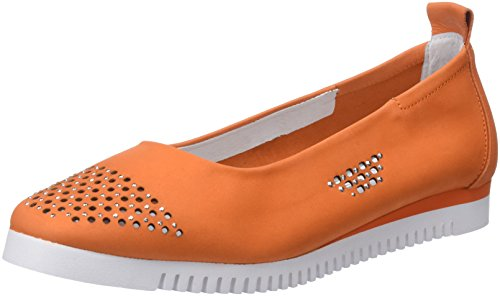 Ballerine Donna Sabrinas Chicago Arancione Orange Punta Chiusa zw5AfqT