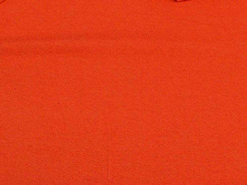 Cotton Lycra Spandex Jersey Knit T-Shirt Dress Fabric 7 Ounce (Tangerine)