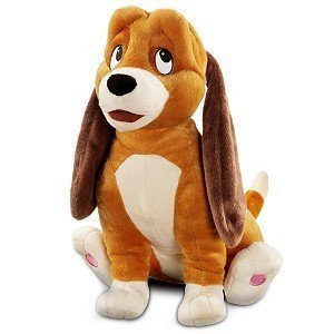Amazon Com The Fox And The Hound Copper Plush 13 Toys Games