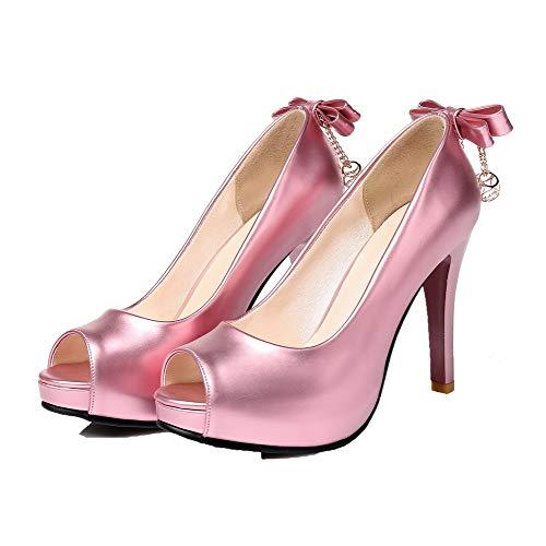 Ballet flats Tacco Tirare Luccichio Puro Alto Donna Allhqfashion Rosa Fbuidd005825 YU4w00