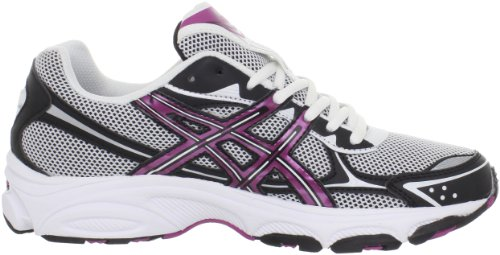 Asics Womens Gel-galaxy 5 Scarpa Da Corsa Bianco / Berry / Nero