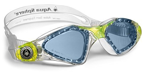 Aqua Gym Aqua Sphere (Aqua Sphere Kid's Kayenne Junior Swimming Goggle - Blue Lens - Transparent/Lime by Aqua Sphere)
