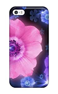 Art Marie Johnson CNEBnlZ1053Jcixl Case For Iphone 5/5s With Nice Animated Flower Mobile Appearance
