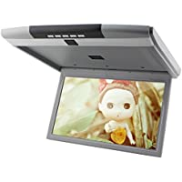 15 inch Inch Roof Mounted Overhead 16:9 LCD Monitor Car Ceiling ...