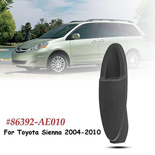 Udele-Store - #86392-AE010 Antenna Bezel Base Ornament Manual Radio For Fender For Toyota Sienna 2004 2005 2006 2007 2008 2009 ()