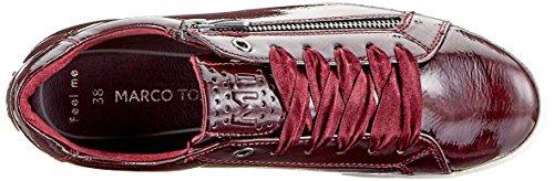 Braun Marco Sneakers 23775 Tozzi Top Low 2 Pat Damen Bordeaux 580 2 31 580 vx1vCpwq