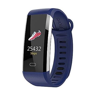 WQ6 Smart watch Blood Pressure Heart Rate Monitor Intelligent Bracelet Fitness smart Bracelet Tracker Pedometer Wristband Black Estimated Price -