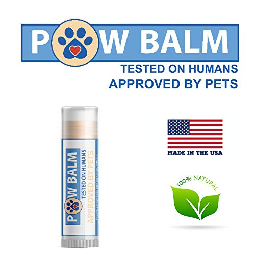 Pawtitas Paw Balm for Dogs Manufactured with Certified Organic Herbs Moisturizer for Cracked Burn Pads, Paw Balm Travel Size Stick 0.15 oz / 4.5 ml ()