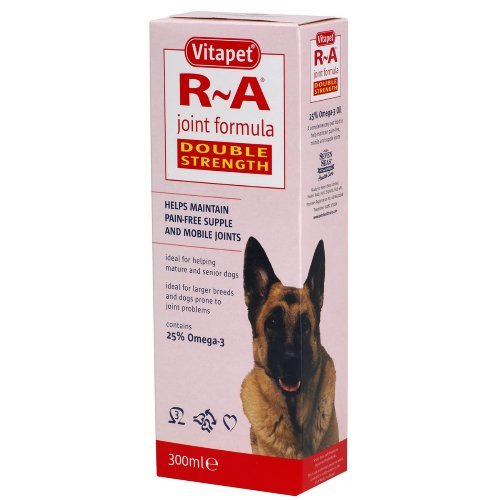 Vitapet Dog Double Strength R A Joint Formula 300ml