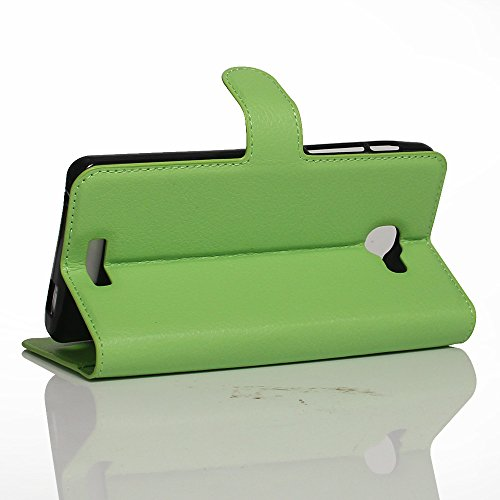 Manyip Funda Alcatel One Touch Flash plus 2,Caja del teléfono del cuero,Protector de Pantalla de Slim Case Estilo Billetera con Ranuras para Tarjetas, Soporte Plegable, Cierre Magnético(JFC2-2) D