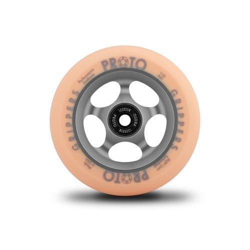 Proto Gripper Faded Wheels Pastel Orange/Ghost Grey - 110mm (Pair)
