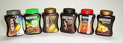 Nescafe Mixed Coffee Gold Blend Cap Colombie Black Gold Espresso Blend 37 Dollhouse Miniature Collectables Magnet Fridge