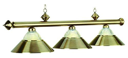3 Lt-54In. Billiard Light-Antique Brass ()