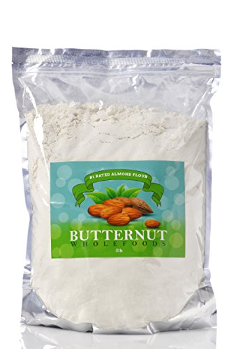 #1 Rated Blanched Almond Flour - 5 pounds of Culinary Grade Almond Flour, Paleo Friendly, Gluten-Free, High Protein Flour, Finest Ground Flour, Amazing Wheat Flour Substitute