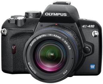 Olympus E-410 - Cámara réflex Digital 10 MP (Objetivo E-410 y EZ ...