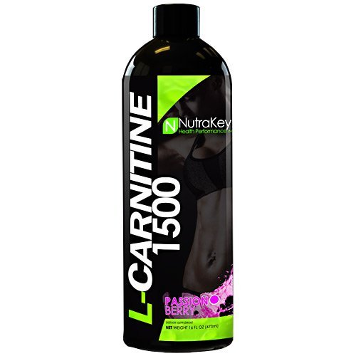 Nutrakey L-Carnitine 1500 - Passion Berry - 31 Servings by Nutrakey ()