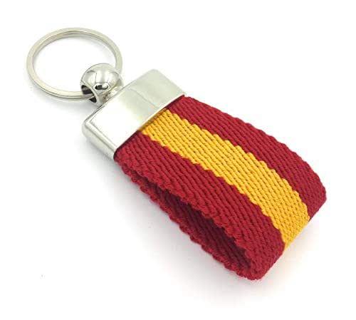 FJR-ArtPiel - Llavero bandera de España lona Ubrique - Calidad Extra: Amazon.es: Handmade